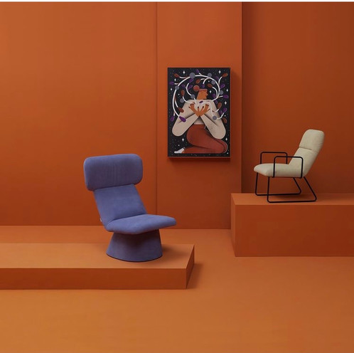 Elle Armchair - Museo Collection