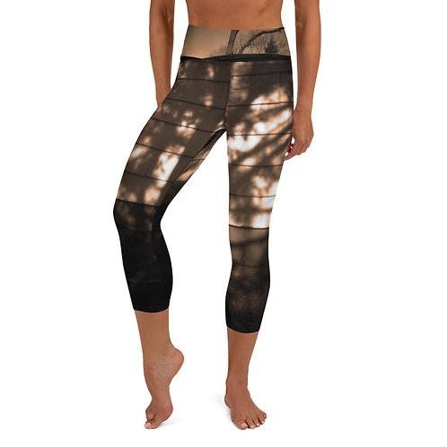 Yoga Capri Leggings  Back Yard Collection 105