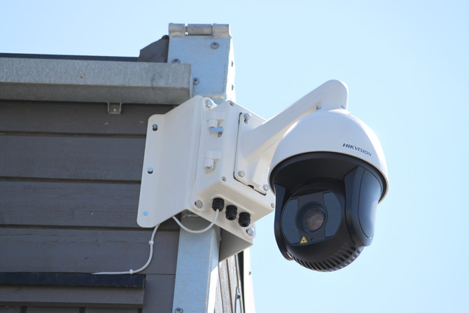 Kameraanlegg med det fremste av teknologi gir full oversikt og kontroll