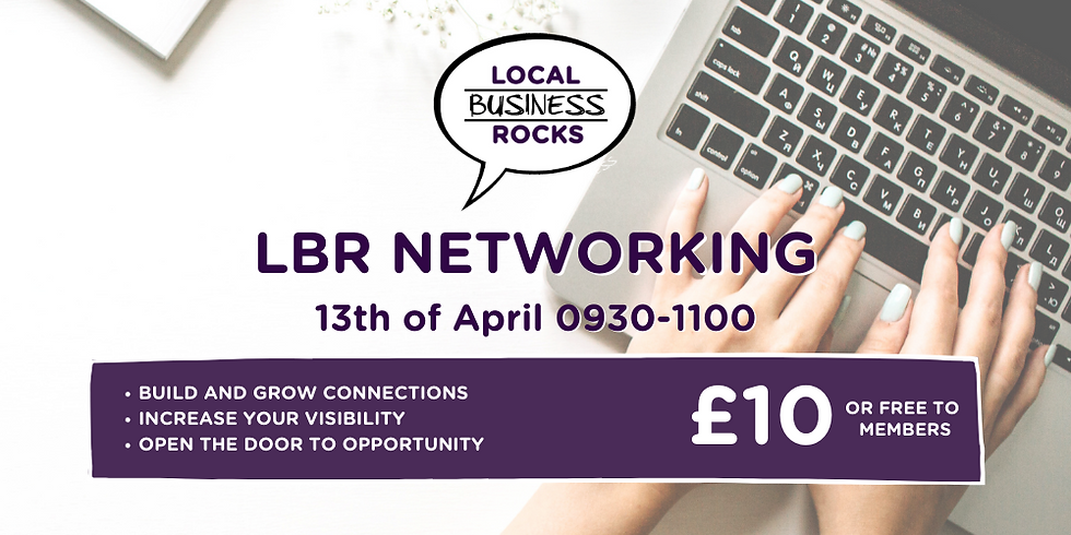Monthly Networking Meeting April