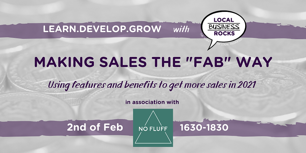 """Making sales the """"FAB"""" way!"""