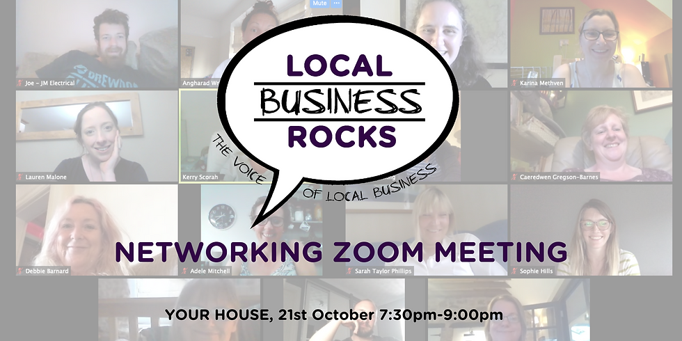 Monthly Networking Meeting - OCTOBER
