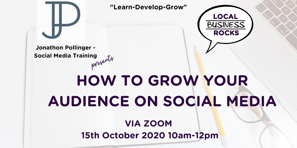 How to grow your audience on social media