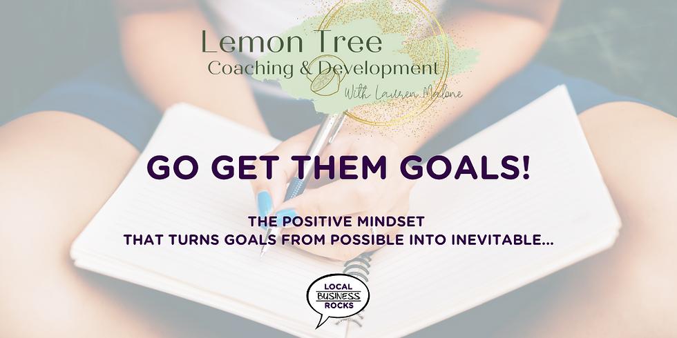 Go Get Them Goals: Online Workshop.