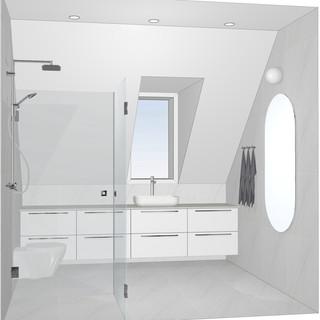 Kylpyhuone. Kirkkonummi 2020.