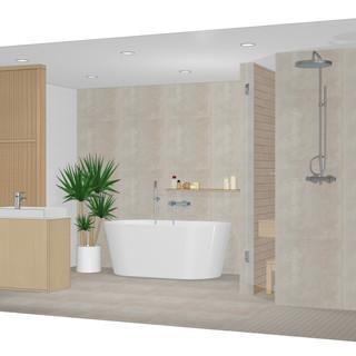 Kylpyhuone. Espoo 2021.