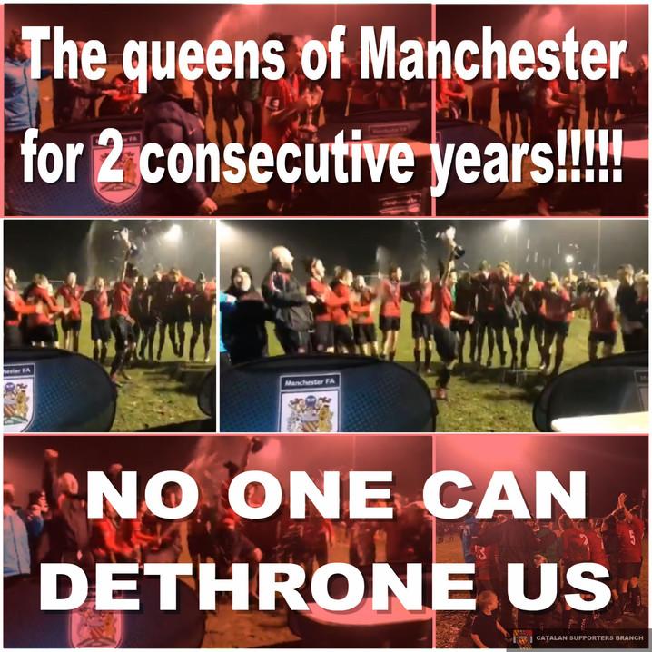 Ningú pot destronar les Reines de Manchester!