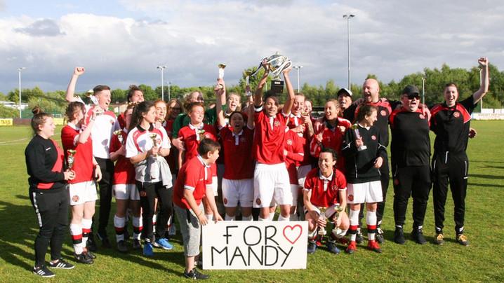 Dos de dos!! Campiones de l'Argyle Cup! #forMandy