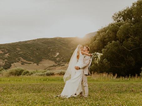Utah Lakeside Bridals | Bailey and Morgan
