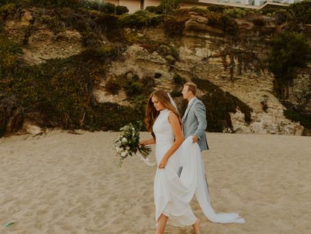 Laguna Beach Bridals | Savannah and Kole