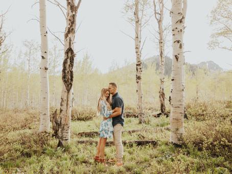Utah Mountain Engagement | Sam and Spencer