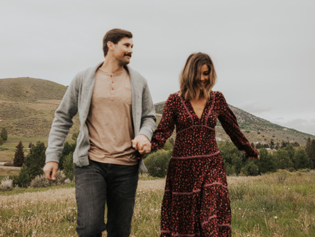 Idaho Adventure Session | Amanda and Ryan + Elmo & Rebel
