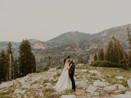 Mountain Lakeside Elopement | Narine and Jamil
