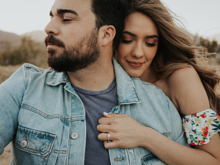 California Desert Engagement Session | Cynthia and Gabe