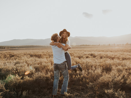 Kirsten & Tristan | Idaho Mountains Adventure Session