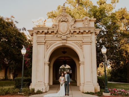 Balboa Park Bridals | Kaitlyn and Eddie + AW Bridal