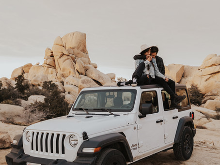 Joshua Tree, a Jeep, plus Jon and Deirdre