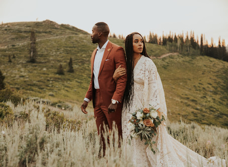 Utah Mountain Elopement | Melissa and KB