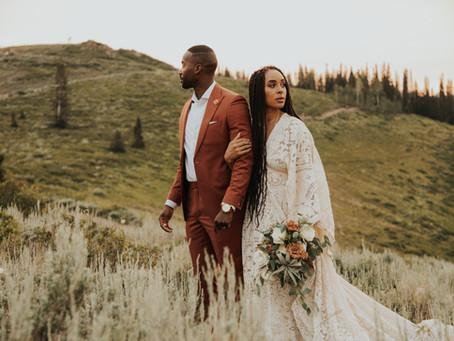 Utah Mountain Elopement | Melissa and KB