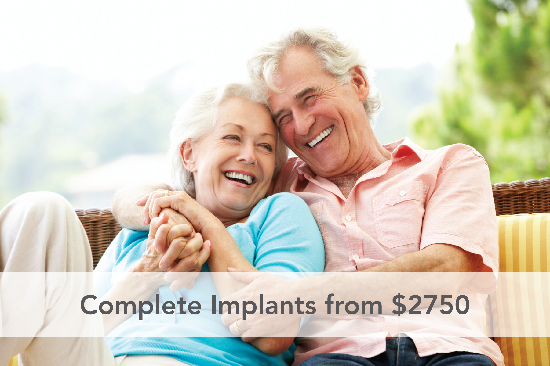 Implants from $2750