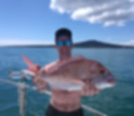 Snapper Fishing Auckland Riko Boat Charters