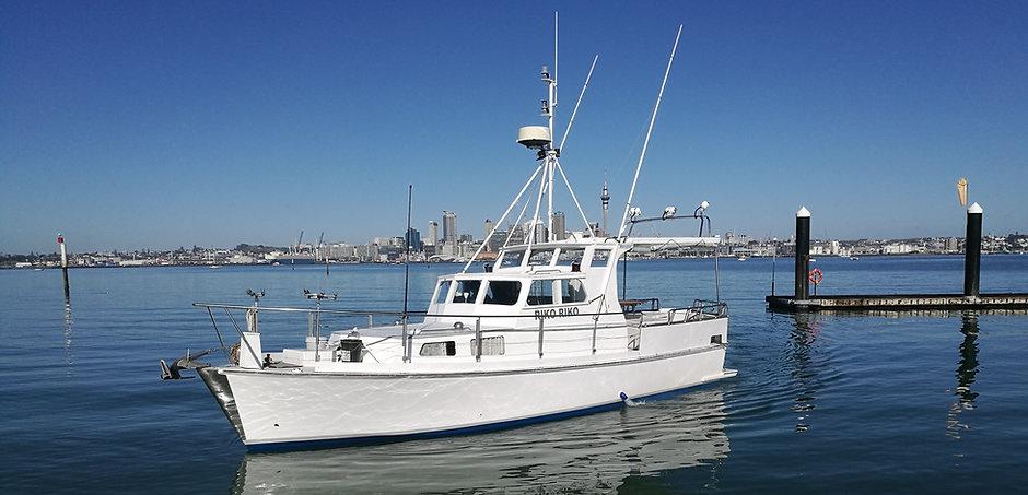 Riko Riko Fishing Boat Auckland