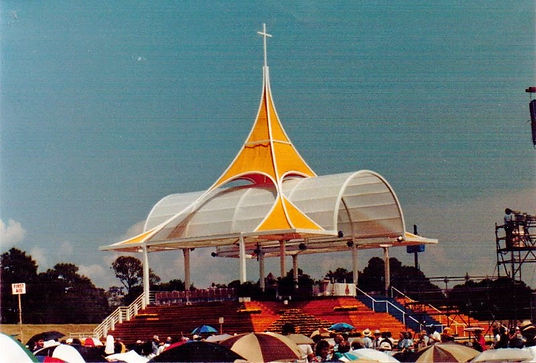 Papal Altar 1987 New Orleans