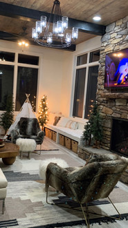custom fireplace surround and install sioux falls