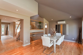 House photoshoot for real estate sale in Halifax, Nova Scotia.  House staged by Raymond Pattingale of Dinner and Design