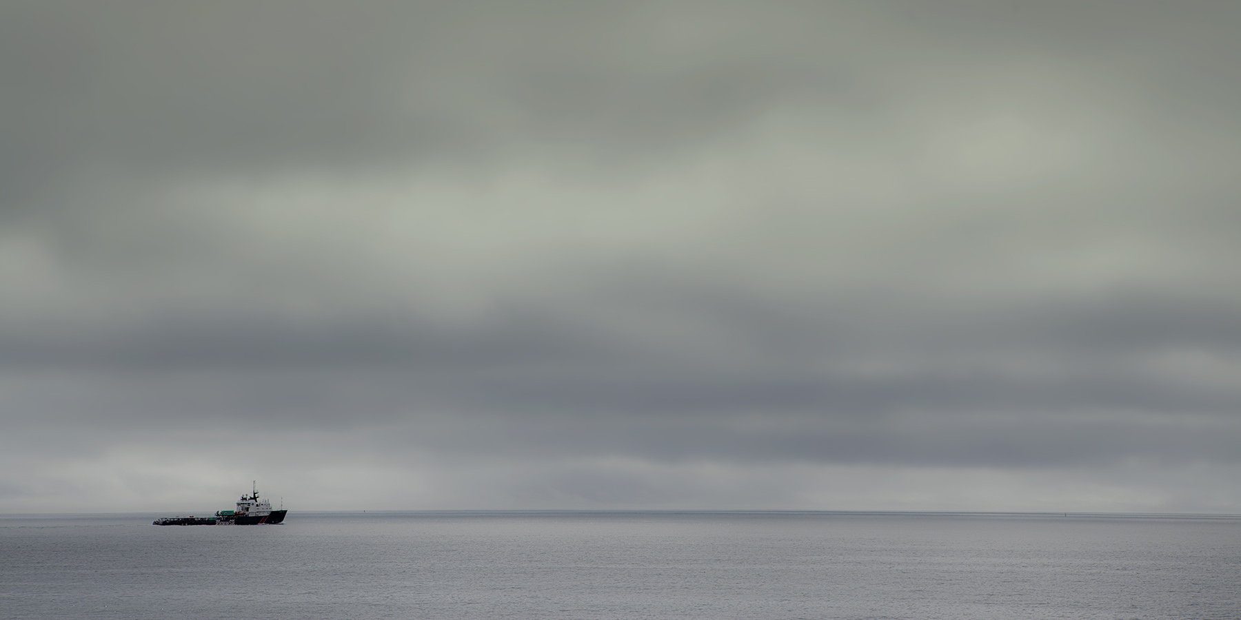 Lonely sea