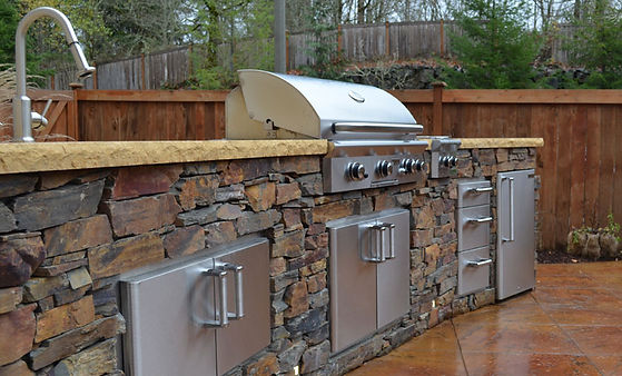 outdoor kitchens grills design sioux fal