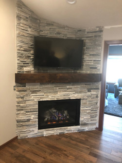 fireplace custom surround design and ins