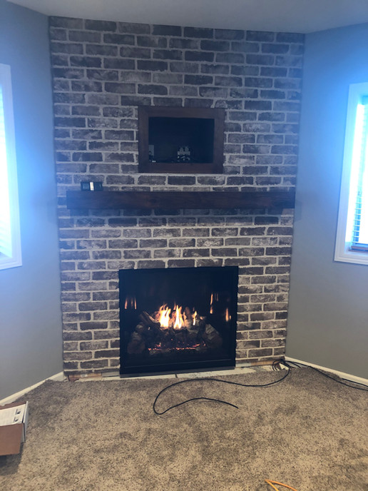 custom fireplace installs sioux falls sd