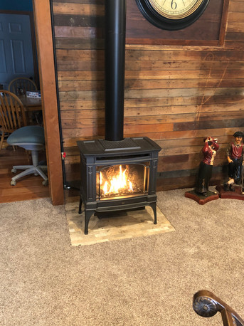 wood burning stoves and install sioux fa