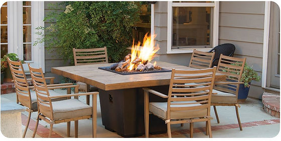 outdoor fire table sioux falls south dak