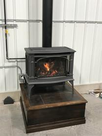 wood burning stove install sioux falls.j