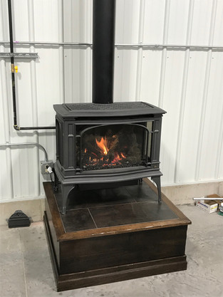wood burning stove install sioux falls.j