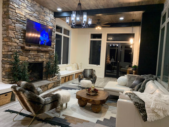 stone fireplace surround design sioux fa