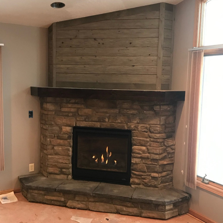 fireplace installation sioux falls