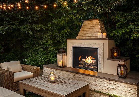outdoor fireplaces sioux falls town and