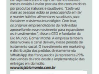 Revista Franquia e Negócios, da ABF, fala sobre expansão da Bio Mundo