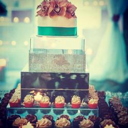 Nadia & Kaushil Wedding Cake