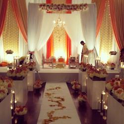 Kaushil & Nadia Wedding Ceremony _hazeltonmanor. One of my favourite setups & couple to do the weddi