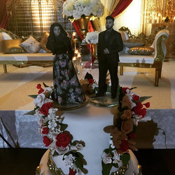 Check out these amazing cake toppers of our recent bride & groom