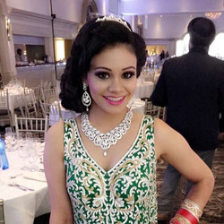 Our Happy Bride Smiling before her big wedding reception began _fontanaprimavera in Vaughan Camera,