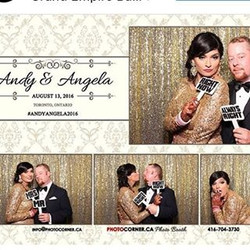 There's always time for a little fun during your wedding. Our clients love taking pics at the photo