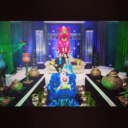 Vicky & Sanjay _dreamsconvention at the wedding reception.
