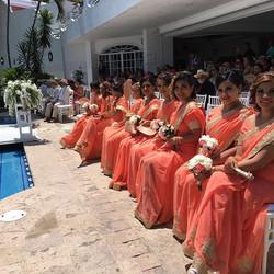 Bridesmaid ready to shine.