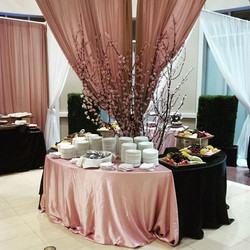 Our client wanted a grand dessert section.