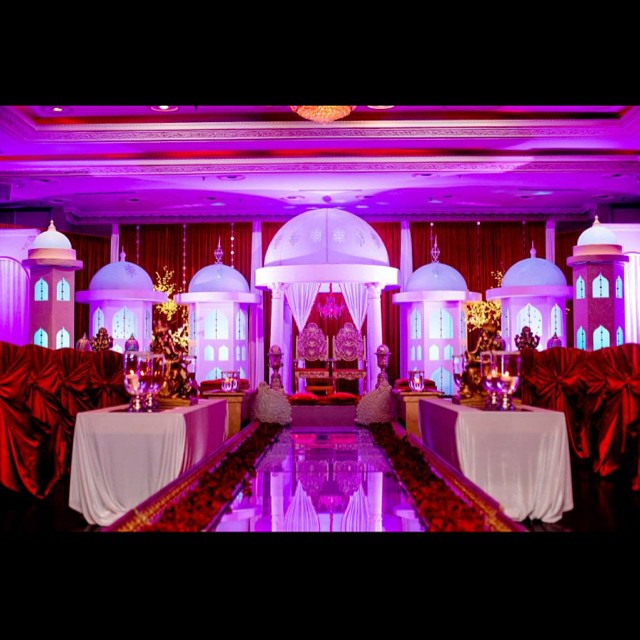 Lavish Ceremony Setup. Elegant Concepts Event Planning did the day of Coordination